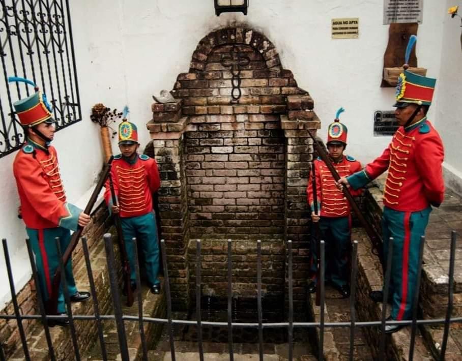 El Chorrito de la Pamba de Popayán, la fuente de suministro de agua más antigua de Colombia