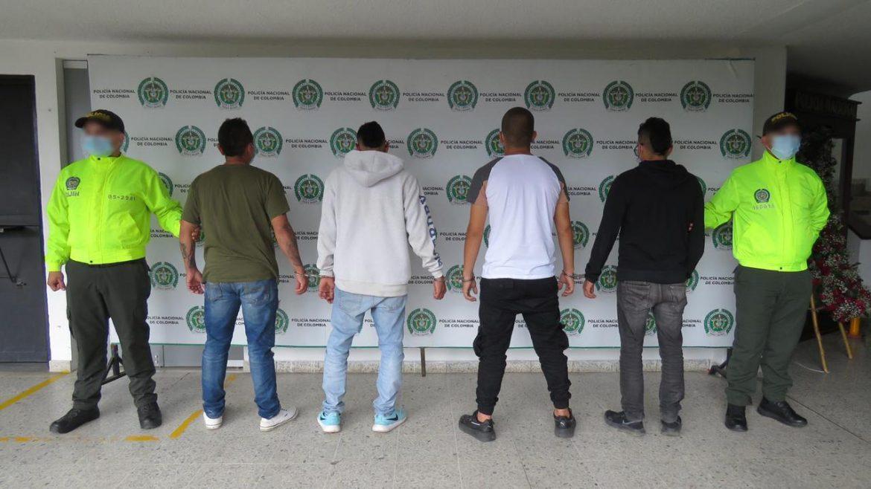 Cuatro capturados por presunta participación en hechos vandalicos contra instalaciones de policía en Popayán