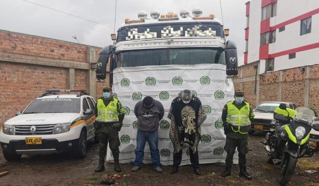 44 Personas de nacionalidad Haitiana, fueron detenidos en Colombia