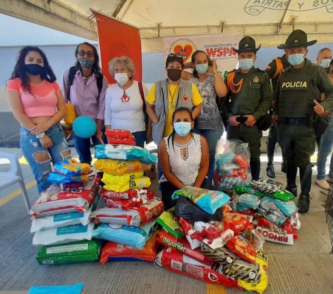 Policía Nacional acompañó jornada de bienestar animal