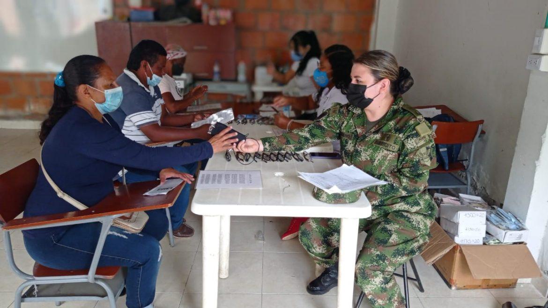 Ejército Nacional llevó jornada de apoyo al desarrollo al norte del Cauca
