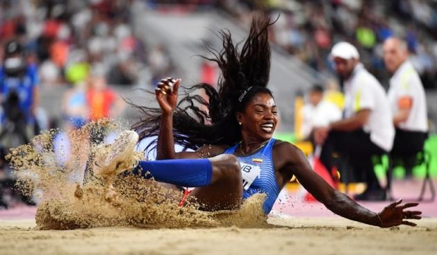 Caterine Ibargüen a la final de  salto triple en los Juegos Olímpicos, Tokyo 2020
