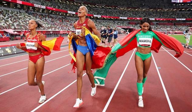 Yulimar Rojas aspira participar en triple salto y salto largo en Paris 2024