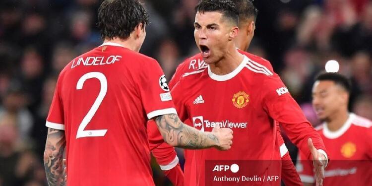 Manchester United se impuso ante el Atalanta, con la anotación de Cristiano Ronaldo