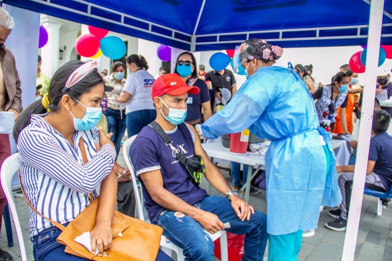 4399 payaneses vacunados en el lanzamiento de la Recta Final del Plan de Vacunación contra la Covid19